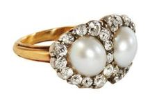 White Engagement Rings (also see moonstone & opal boards)