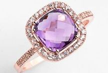 Pink, Blush & Purple Engagement  Rings (also see morganite board)