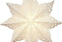 Lanterns - Pizzelle / Intricately cut, lacy and lovely paper lanterns. Truly exquisite and perfect for decorating!
