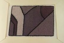 Samantha's Embroidery Designs / I designed and executed this needlework art.