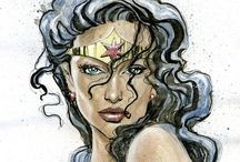 Wonder Woman! / A love for Wonder Woman and all she embodies.  Click on the link to hear me voice #WonderWoman https://www.youtube.com/watch?v=bHKv4uquNi8