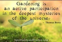Garden Wisdom / Just a few of our favourite garden quotes and sayings