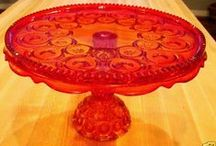CAKE STANDS, SERVING TRAYS, TIERED DISPLAYS / by KAREN MILLER