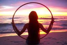 Hooping & aerial & yoga goodness / Hooping, aerial, yoga