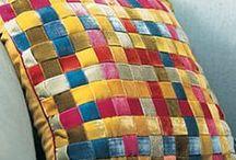 cojines / Diseño de cojines, bordados y monos para los mas chicos