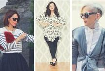 Mature Style / Style Inspiration & Style Icons for Mature Women