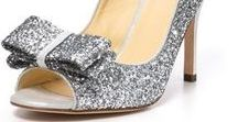Glittery Shoes for Shoeaholics / Glitter shoes are glamorous for special occasions from weddings to prom to date night! Give us glitter pumps and glittery sandals to be all glammed up!