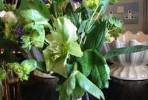 FLOWER ARRANGEMENTS / FLOWER ARRANGEMENTS AT HOME WITH BUTTER