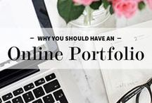 E-Portfolios / Having an online portfolio can boost your job search.   *Disclaimer: Inclusion to this board does not represent an endorsement by Career Development Office.*