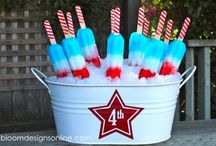 Fourth of July / Food, decor and fashion for the Fourth of July