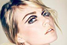 Maquiagem: côncavo / Leve o delineador para o côncavo dos seus olhos! Frida Gustavsson para a Allure (jan.2013)