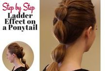 Prismatic Ponytails / Classic ponytails with a modern, stylish twist. / by Sexy Hair
