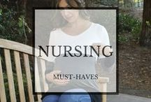 Nursing Must-Haves / Clothing designed to fit your nursing needs.