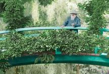 Monet's Garden. Giverny, France. / Monet's home and art <3