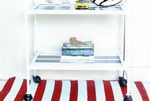 Tea Bar Shelf Cart / Carrinho / by Prussia Pestana