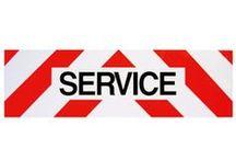 Balisage de véhicule / ALTP service vous présente sa gamme de balisage de véhicules tels que plaques Service ou rouleaux de valisage