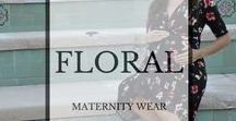 Floral Maternity Wear