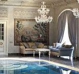 Interiors of swimming pools   Интерьеры бассейнов