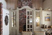 Interiors of mansards   Интерьеры мансард.