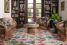 Eclectic + Bohemian Style / Home Decor Inspiration with Global Style for the Free Spirited Traveler.