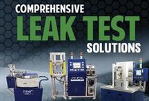 Leak Testing Solutions / At LACO, you will find the most comprehensive selection of custom and standard leak detection equipment and systems. From portable leak detection instruments to production leak test systems, LACO has the solution for your application.