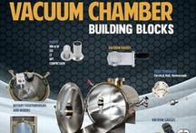 Vacuum Chambers / LACO engineers a broad range of vacuum chambers using common materials and dimensional configurations to make shopping for a vacuum chamber easy and cost effective.  Both standard and custom chamber designs.  Durable construction.  Many vacuum chambers in stock (call to check availability)