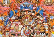 THE WHEEL OF LIFE / Mandalas - Illuminations of intention - Gods & Goddesses - The Rule of Thumb is One But One
