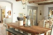 Inspiring Rustic Interior / Home Decor:Things that link with #PigeonDynamite 's style