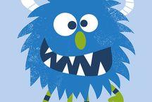 Illustrations: Monsters, Creatures & Aliens