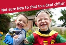 Deaf awareness tips / Tips to help your friend communicate with your deaf child. SHARE on facebook and twitter.