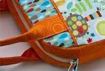 Bags and totes / Идеи сумок, косметичек, кошельков. Дизайн, техника шитья, украшение.
