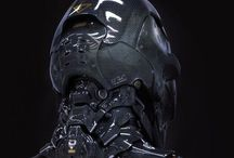 Scifi Exo / Designs for Exo-suits and robots.