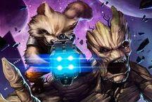 Groot & Rocket Racoon