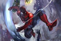 Spider-man | Venom |Garnage | Spider verse | Peter Parker | Spider Gwen | Web Warriors