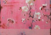 Floral Dessins / Floral flimsy flower dessins, inspirational for textile design