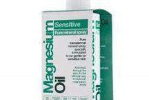 Magnez w ekologicznych suplementach diety / Produkty ekologiczne zawierające naturalny magnez.