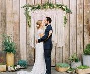 Ceremony Backdrops and Arches / Beautiful backdrops, arches and ceremony chuppahs!