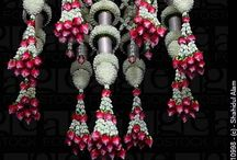 flower decor and gardens / by Anandhi Thulasidharan