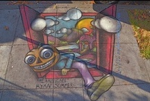 Chocolate & Chalk Art Festival, Berkeley, CA / The best of the artwork by our extremely creative community.