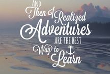 Inspiring Words / Worlds of wisdom we find inspiration. Quotes about summer camp, the outdoors, adventure, and more!