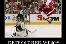 Hockey _/ Red Wings \_ / by Lizzy