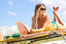 girl's surfer