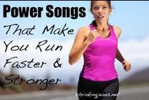 """Running Music / As a runners, we often turn to music to keep us entertained and motivated during our training runs and races. We love discovering new running songs (even if """"new"""" only means """"new to us""""), listening to them, and sharing them with others :)"""