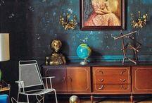 Home: interior mix / #Interior #design #modern #loft #decor #eclectic
