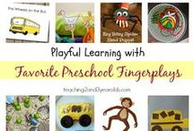 Fingerplays for preschooler/toddler story times / by Lincoln City Libraries