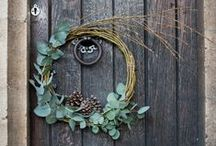 #winterdoor / Unleash your creativity and make your own door decoration with help from a professional florist. Take a picture of it and join the #winterdoor