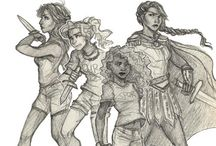 The girls / Heroines of Olympus