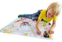 Very Mappy & kids / Discover the world with Very Mappy's giant color & play maps!