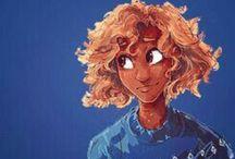 Hazel Levesque / the daughter of Pluto