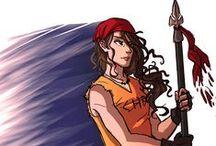 Clarisse La Rue / the daughter of Ares